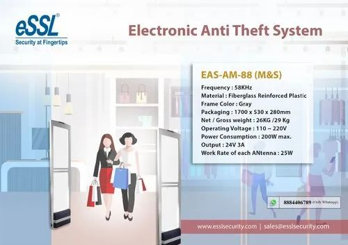 Anti Theft AM System For Malls