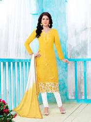 Long Length Cotton Salwar Kameez