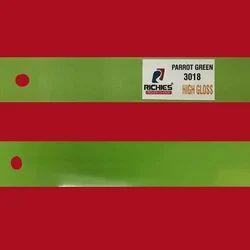 Green High Gloss Edge Band Tape
