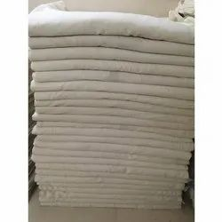 Cream Grey Plain Cotton Fabric, Weight: 100 Gm/Meter, for Clothes
