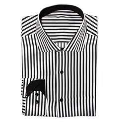 Mens Cotton Striped Formal Shirts