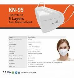 CE Approved KN95 Ultrasonic Respirator Face Mask Earloop With Valve