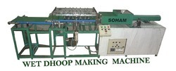 Automatic Wet Dhoop Stick Making Machine