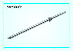 Steel Knowel's Pin, for Orthopedic Implants, for Permanent