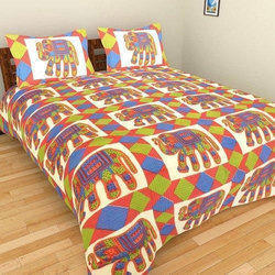 Jaipur Cotton Casual Bed Sheet