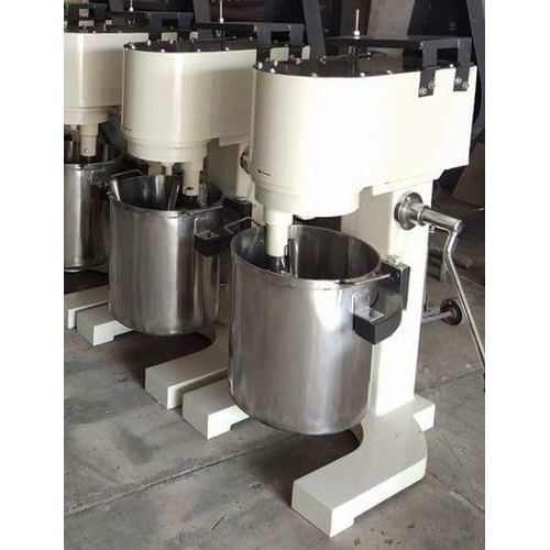 Stainless Steel Semi Automatic Planetary Mixer Machine, 0.85 Kw