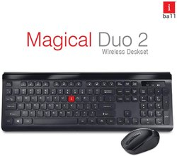 Wireless Black Keyboard Iball Combo Dusky Duo, Size: Regular