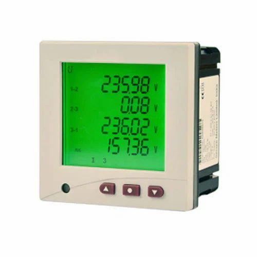 Secure Three Multifunction Panel Meter, For Industrial, Model: Elite,   ID:  6408909762