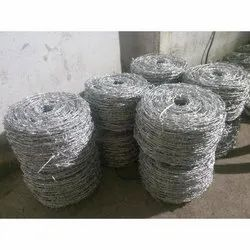 Galvanized Barbed Fencing Wire