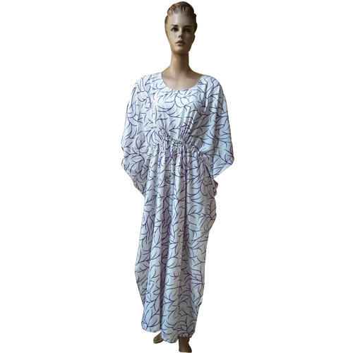 298f968367a0 Chiffon Printed Ladies Kaftan, Rs 699 /piece, Sam Inc. | ID: 1441185630