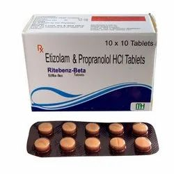 Etizolam And Propranolol HCL Tablets