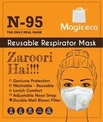 Magic Eco Reusable N95 Mask With Respirator