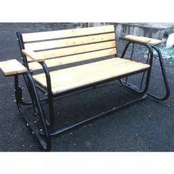 Parallelogram Style Jhoola with Wooded Slat Seats