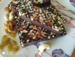 Sweet Dry fruits chocolate bar