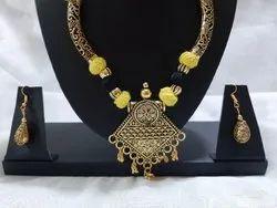 Casual Wear Silk Thread Jewellery Set