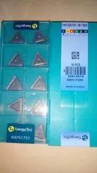 Carbide Steel Triangle Tegutec Carbide Inserts TPKR-2204 TT8020