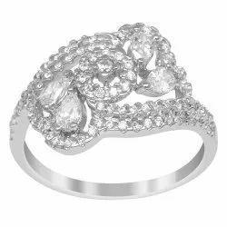 925 Sterling Silver Designer Wedding Ring