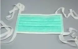 Non-Woven Tie-On Face Mask in 2 Ply