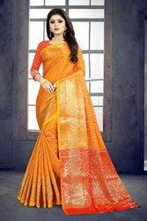 Party Wear Banarasi Saree