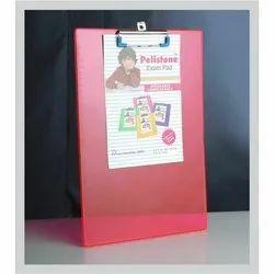 Pink Plastic Exam Pad