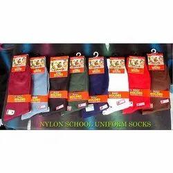 Nylon School Uniform Socks