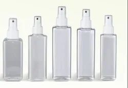 Rectangular Shape Pet Bottles from 20ml to 500ml