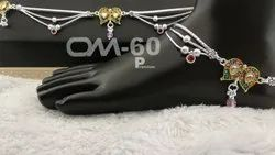 Stylish Silver Anklet
