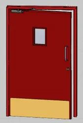 SS Hinged Fire Rated Doors
