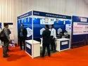 Decoration White Exhibition Stall Rent / Hire Service, For Inside Tent
