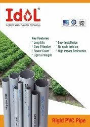 PVC Grey Pipes For Agriculture