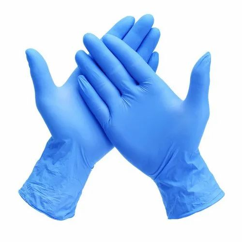 280 mm Mid forearm Nitrile Gloves, Size: 7 inches, Rs 550 /pkt | ID:  22245420030