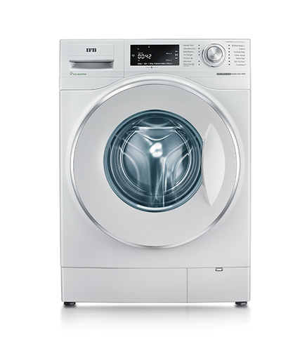 IFB 8.5 kg Fully Automatic Front Load Washing Machine, Executive Plus VX ID, White