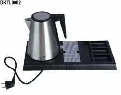 Hotel Tea Kettle Tray Set for Guest Rooms