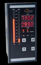Dual Channel Bar Graph Indicator Controller