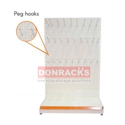 Donracks Perforated Rack with Hooks
