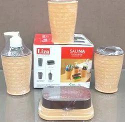 Sheth Plastic Sauna Bathroom Accessories, For Home & Hotel, Size: Standard