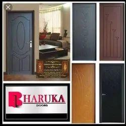 Brown interior membrane door, For Home, Rectangular
