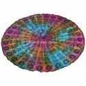 60 Inches Round Printed Table Cover