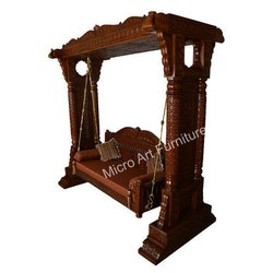 Ethnic Wooden Swing