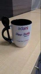 Spoon Color Coffee Mug Printing Service