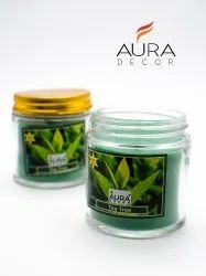AuraDecor Soy Wax Jar Candle Teatree