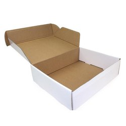 Cardboard Rectangle E Flute Carton Box, Box Capacity: 1-5 Kg