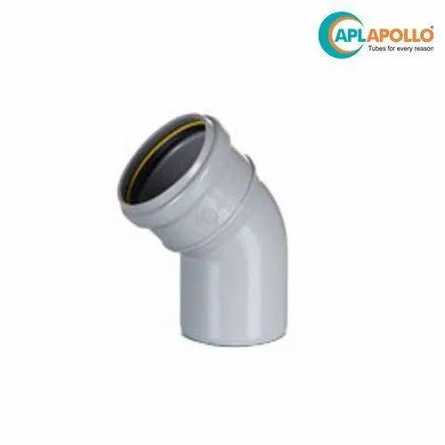 Apollo SWR 45 Degree Bend Ring Fit, Size/Diameter: 75-110 mm