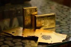 Gold Plated Poker Playing Cards