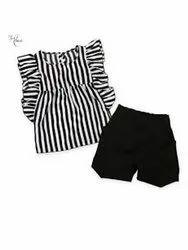 GRS Recycle Cotton Kids Shorts Set