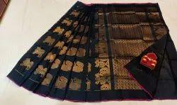 Chiffon Plain Upadda Saree