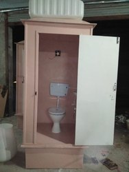 FRP bio tank portable toilet