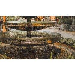 KDS Sandstone Solar Fountain, 220/380 V