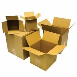 3 Ply Brown Corrugated Paper Packaging Boxes