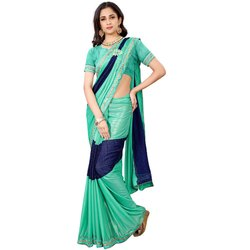 Readymade Patch Work Saree